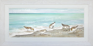 """Surfside Dining"" Acrylic Lisa Sparling Original"