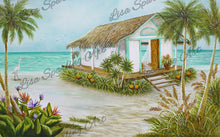 """Take Me To The Beach"" Lisa Sparling Art Giclée Reproduction"