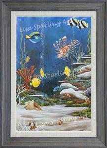 """The Reef"" Acrylic Lisa Sparling Original"