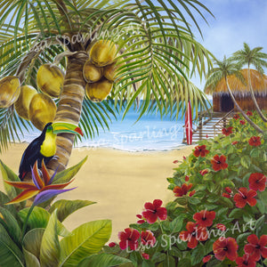 """Tropical Toucan"" Giclée Reproduction"