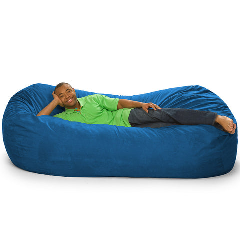 7.5 Foot MojoBagz Bean Bag Sofa