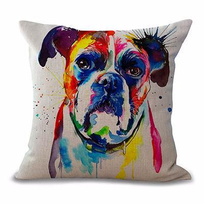 Boxer Art Pillow Cover