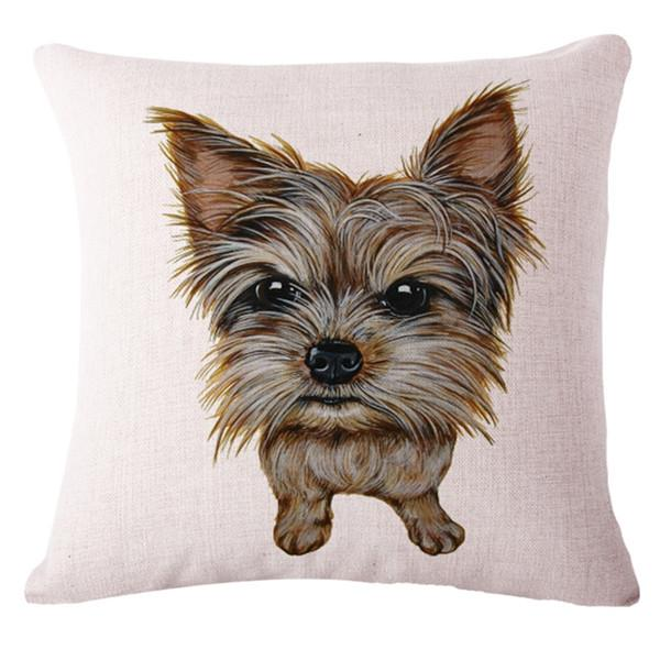 Yorkshire Terrier Pillow Cover