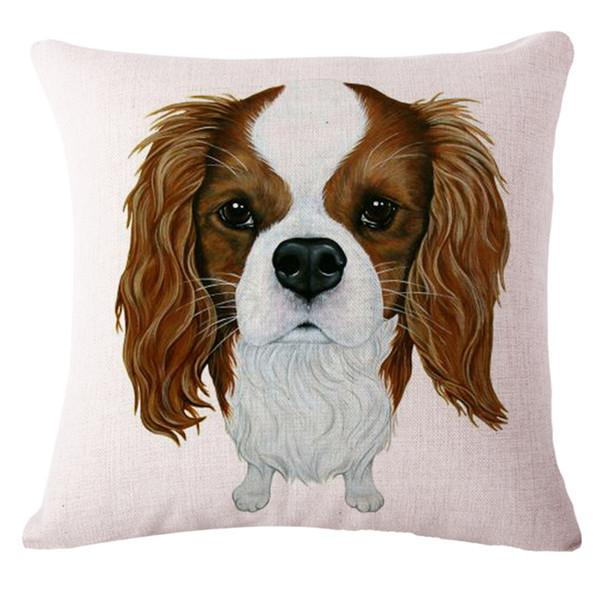 Cavalier King Charles Spaniel Pillow Cover