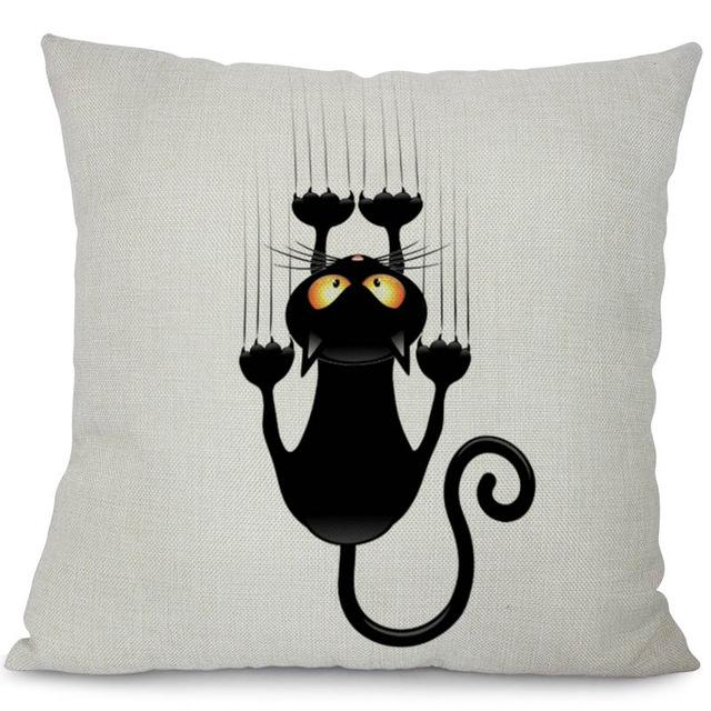 Scratch Pillow Cover