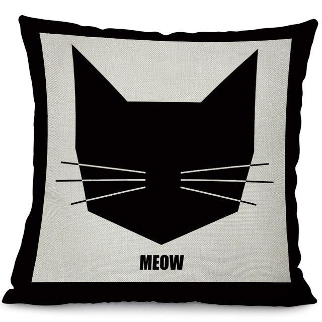 Meow Pillow Cover