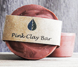 Essential Oils with Carly Pink Clay Facial Soap