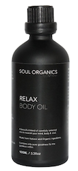Soul Organics Co Relax Body Oil 100mL