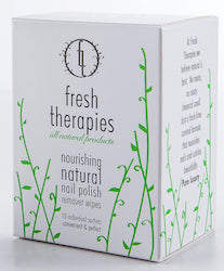 Fresh Therapies Natural Nail Polish Remover 10 Pack