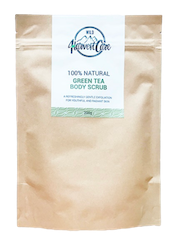 Wild Harvest Care 100% Natural Green Tea Body Scrub 200g