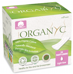 Organyc Cotton Panty-Liners 24 pack