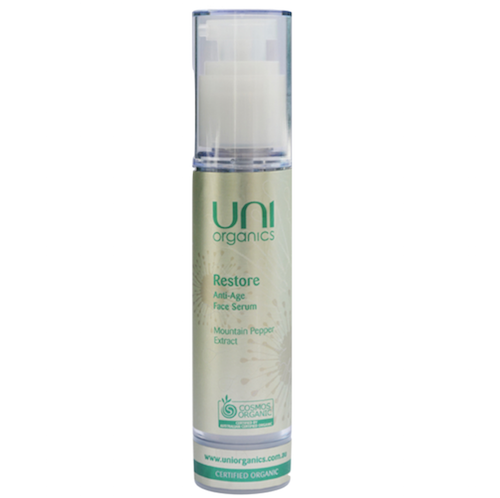 Uni Organics Restore Anti-Age Face Serum 50mL
