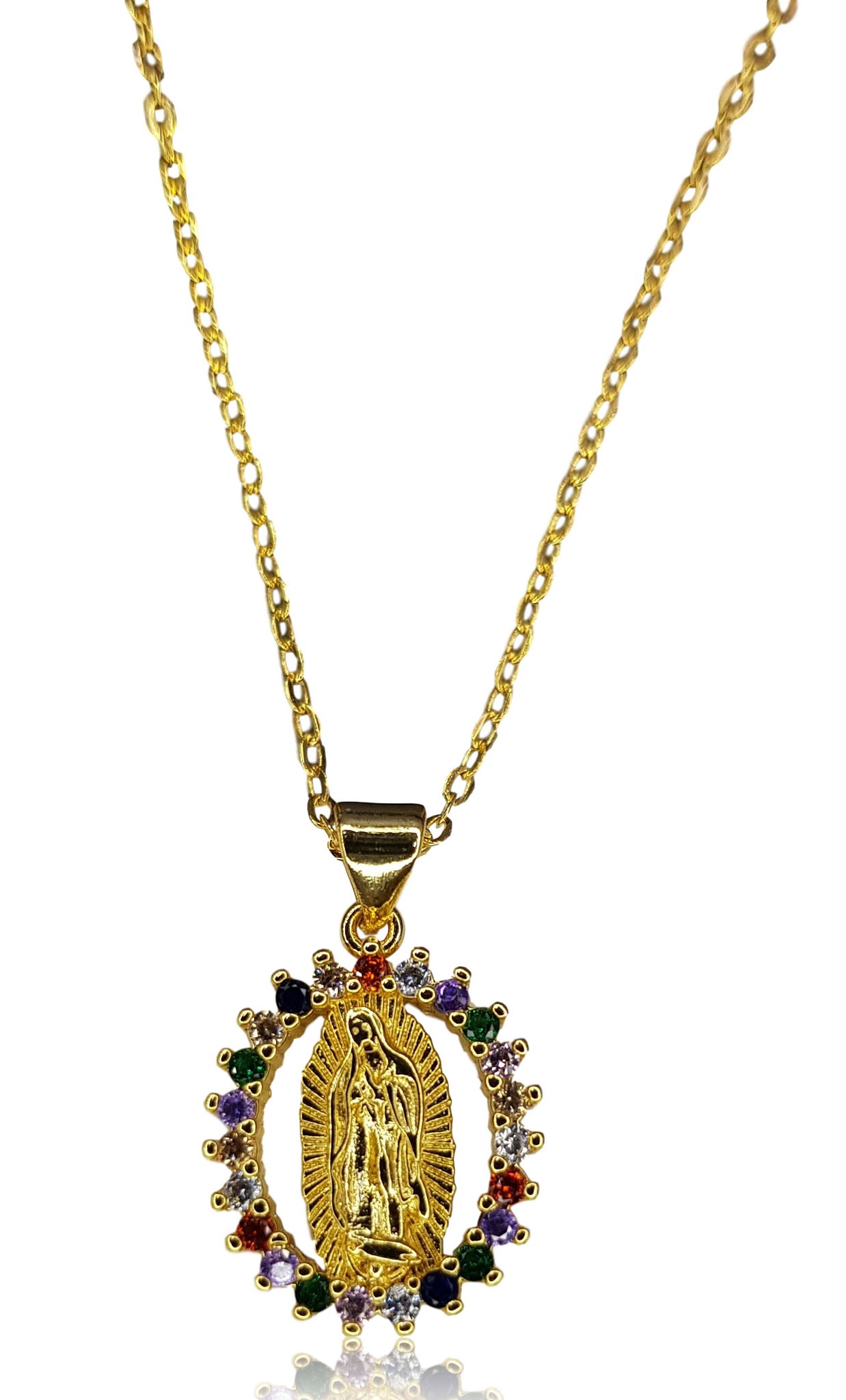 COLLAR VIRGEN RAINBOW 2