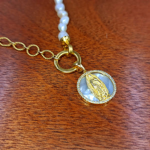 COLLAR MED VIRGEN