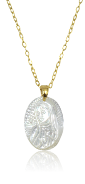 Collar Dije Virgen