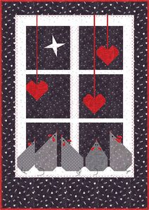 Christmas Window Pattern