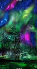 #119 Northern Lights Multi Panel-C6790