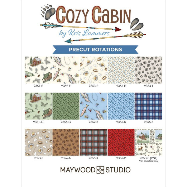 Maywood Cozy Cabin Jelly Roll ST-MASCOZ