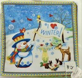#12 It's Snow Fun Book Panel