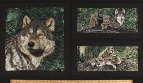 #33 WL Wolf Song Exclusively Quilters