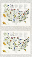 #40 Ivory State Flowerscape  Moda 47000 11