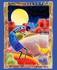 #54W Kokopelli & The Moon Art Licensing AL39960C1