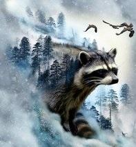 #66WL Racoon Cll of the Wld HF P4398-176 ICE