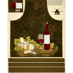 A18 Wine OClock Apron WP Q1810 42395 195