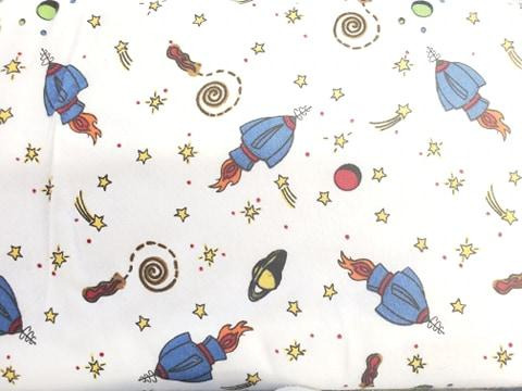 Alpine Fabrics Space Ships F3001-1 Flannel