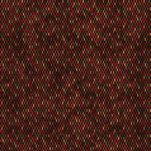 BKC Beaded Texture Red/Multi