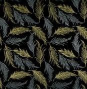 Bali Batiks Sparkle and Fade Black Metallic Q4471-4M