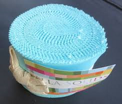 Bella Solid Egg Blue Jelly Roll 9900JR 85
