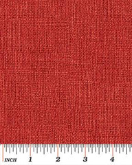 Benartex Burlap Red 00757 15