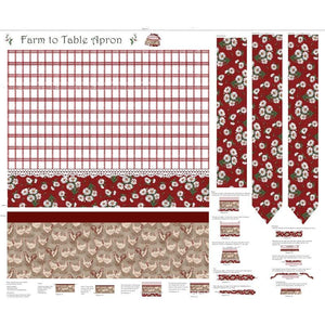 Bl#19 Farm to Table Red Apron
