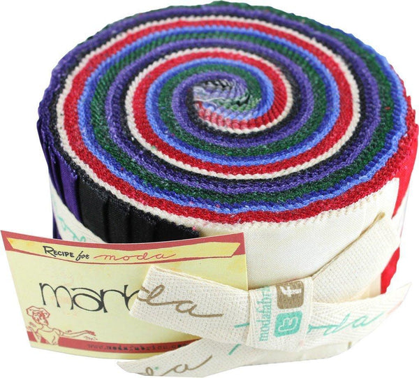 Bright Marble Jelly Roll 9880JR 12