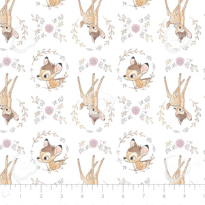 CC Disney Sentimental Collection Sweet Bambi in White Metallic Copper 85040107L 01
