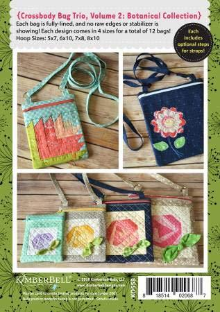 Crossbody Bag Trio Botanical KD558