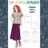 Eureka Top & Skirt The Sewing Workshop TSWPP009