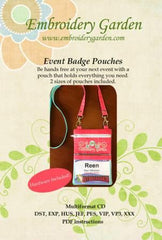 Event Badge Pouches EGEVBP