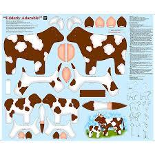 #35B Brown Udderly Adorable