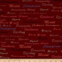 Fabri-Quilt - Wine Country - Words 11229691