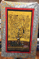 "Gustav Klimt Tree Diva Kit 35"" x 54"""
