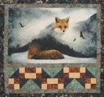 "HF Fox & Tracks Kit 48.5"" X 46.5"" Fabrics May Vary"