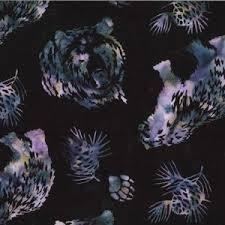 Hoffman Bear and Pinecones Blacklight   N2908-537
