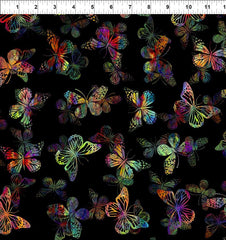 ITB Urban Jungle Butterflies Multi 7UJ 1
