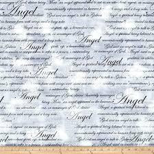 Kanvas - Heaven Sent - Angel Script Grey 08565 11