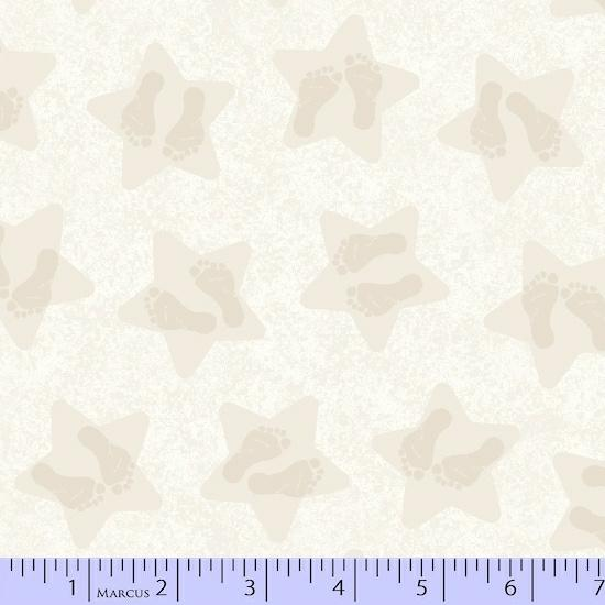 MF Songbook Little Star Cream R65-9884-0242 Flannel