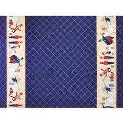 MM Nutcracker Act 1 Border Blu DM7518-NAVY-D