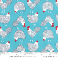 Moda Farm Fresh Blue Chicken 48262 20