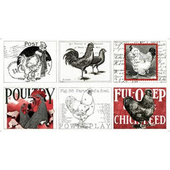 P11 Fowl Play Placemats QT